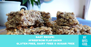Easy Recipe: #FreeFrom Flapjacks - Gluten free, dairy free & sugar free