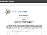 Seleksi CPNS Badan Pusat Statistik (BPS) Tahun 2018 Resmi Dibuka, Cek Sekarang !