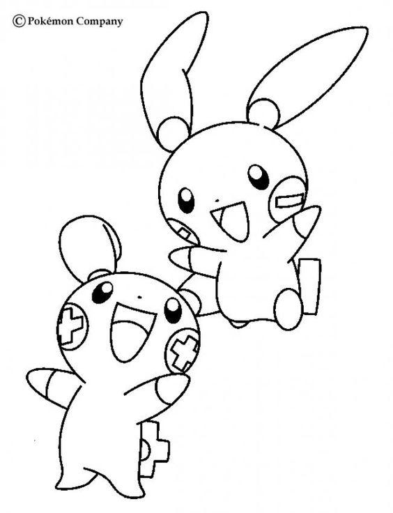 Tranh tô màu Pokemon 73