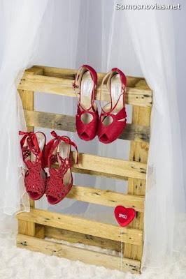 Zapatos de Novia Rojos