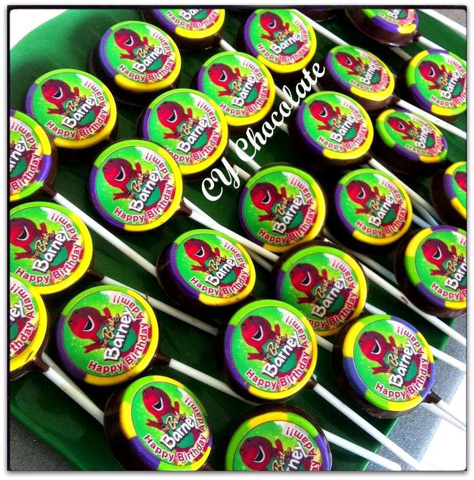 BARNEY OREO CHOCOLATE + WORDING