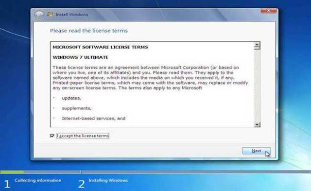7 - Tutorial Menginstal Windows 7
