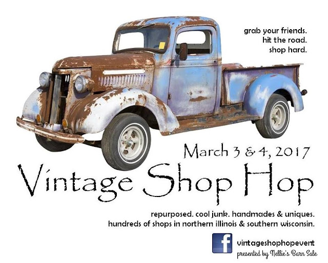 Vintage Shop Hop March 3-4 2017