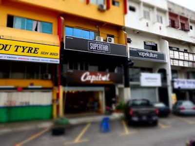 SuperThai Restaurant facade @ Damansara Utama