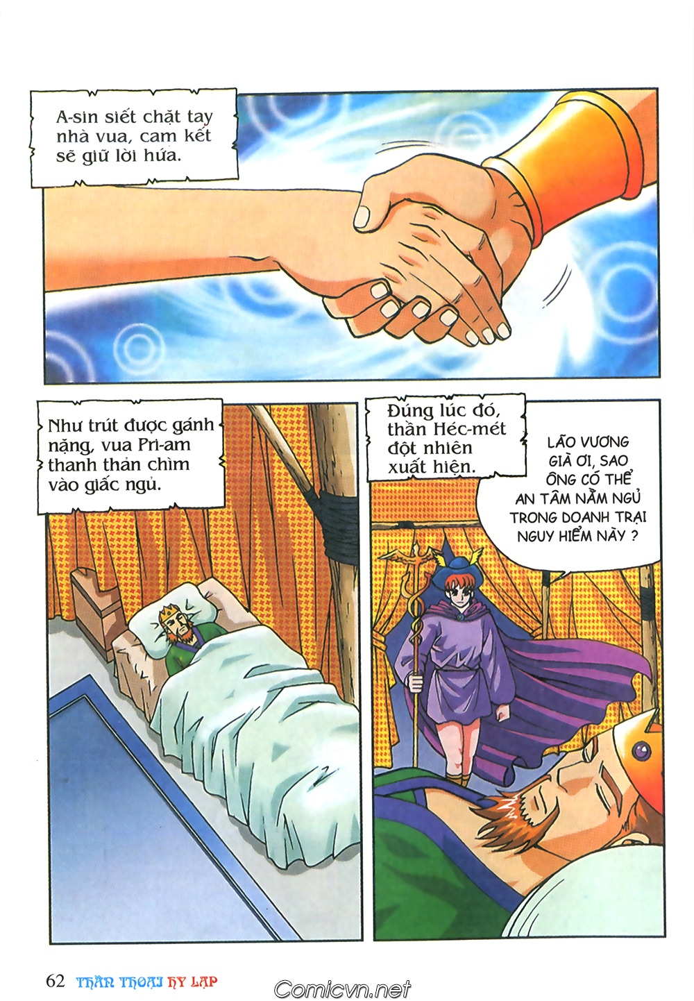 Thần Thoại Hy Lạp Màu - Chapter 63: Lão vương Pri am chuộc xác con - Pic 36