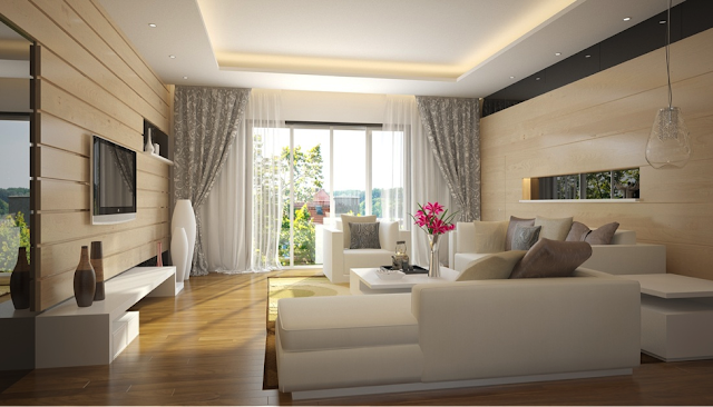 Không gian căn hộ tại Samsora Hà Đông