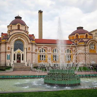 Baños públicos, Sofia, Bulgaria