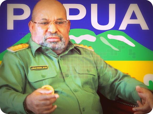 Lukas Enembe Paparkan Keberhasilan Empat Tahun Kepemimpinannya di Provinsi Papua