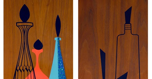 Oh So Lovely Vintage Inspiration 60 S Wood Wall Art