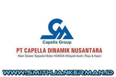 Lowongan PT. Capella Dinamik Nusantara Pekanbaru Juli 2018