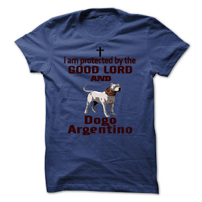 Doubly Protected Dogo Argentino Tees