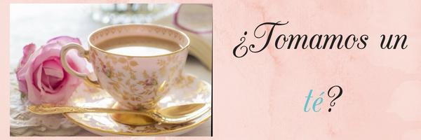 Cartel/letrero ¿tomamos un té?
