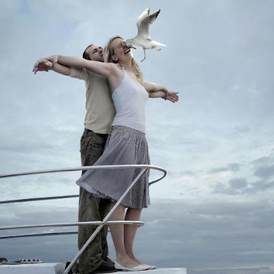 fotomontaje pareja titanic cómico