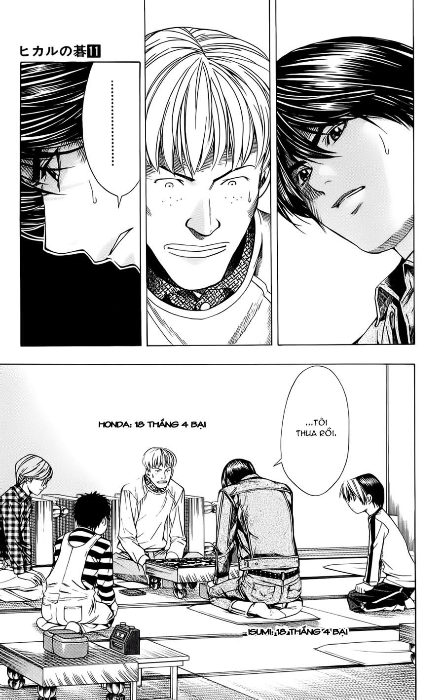 Hikaru No Go hikaru no go chap 88 trang 5