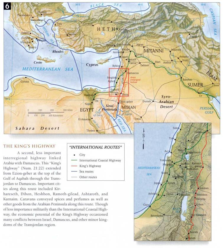Geografia Bíblica   Mapas Bíblicos