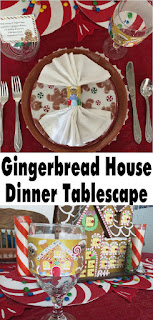 Have a fun Gingerbread dinner party with your kids while teaching Teaching your kids manners and fun with family dinner parties! With a little bit of effort and imagination, you can turn your dinning table into a place for good memories and not craziness with this fun and simple dinner idea. #gingerbreadhouse #dinnerparty #familydinner #tablescape #diypartymomblog