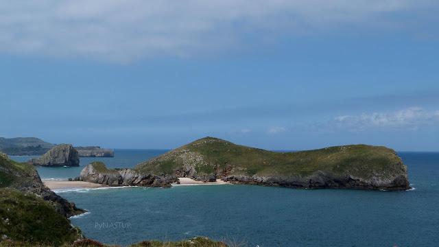 Islote y Playa de Almenada - Llanes - Asturias