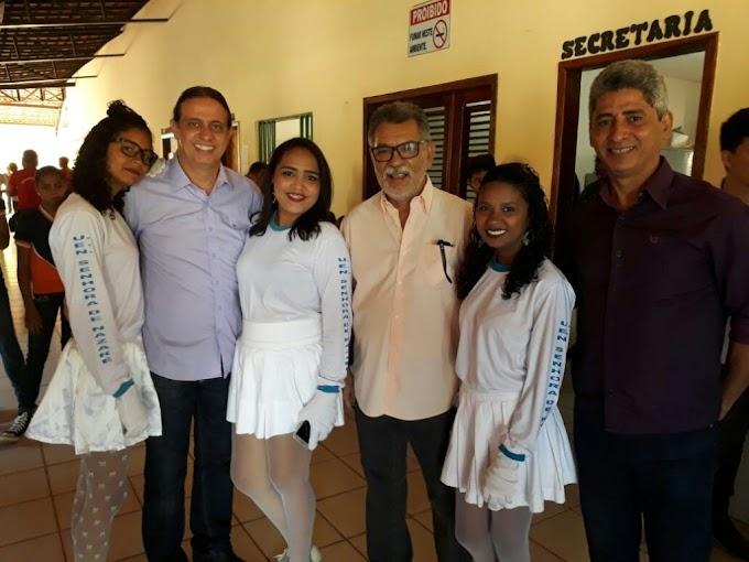 Escolas do Povoado Nazaré do Bruno realizam desfile cívico em alusão à Independência do Brasil