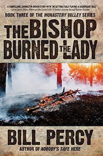 The Bishop Burned the Lady - a mystery detective series by Bill Percy