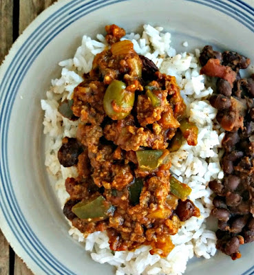 Easy Cuban Picadillo (Ground Beef Stew)