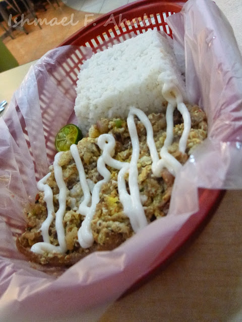 Seafood sisig rice of King Sisig
