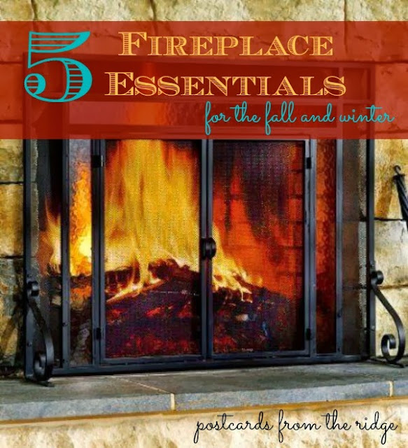 5 Essentials for your fireplace