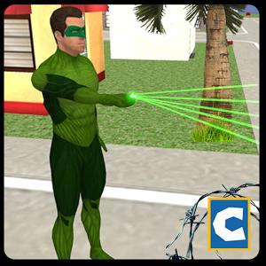 Green Ring Hero Crime Battle MOD APK