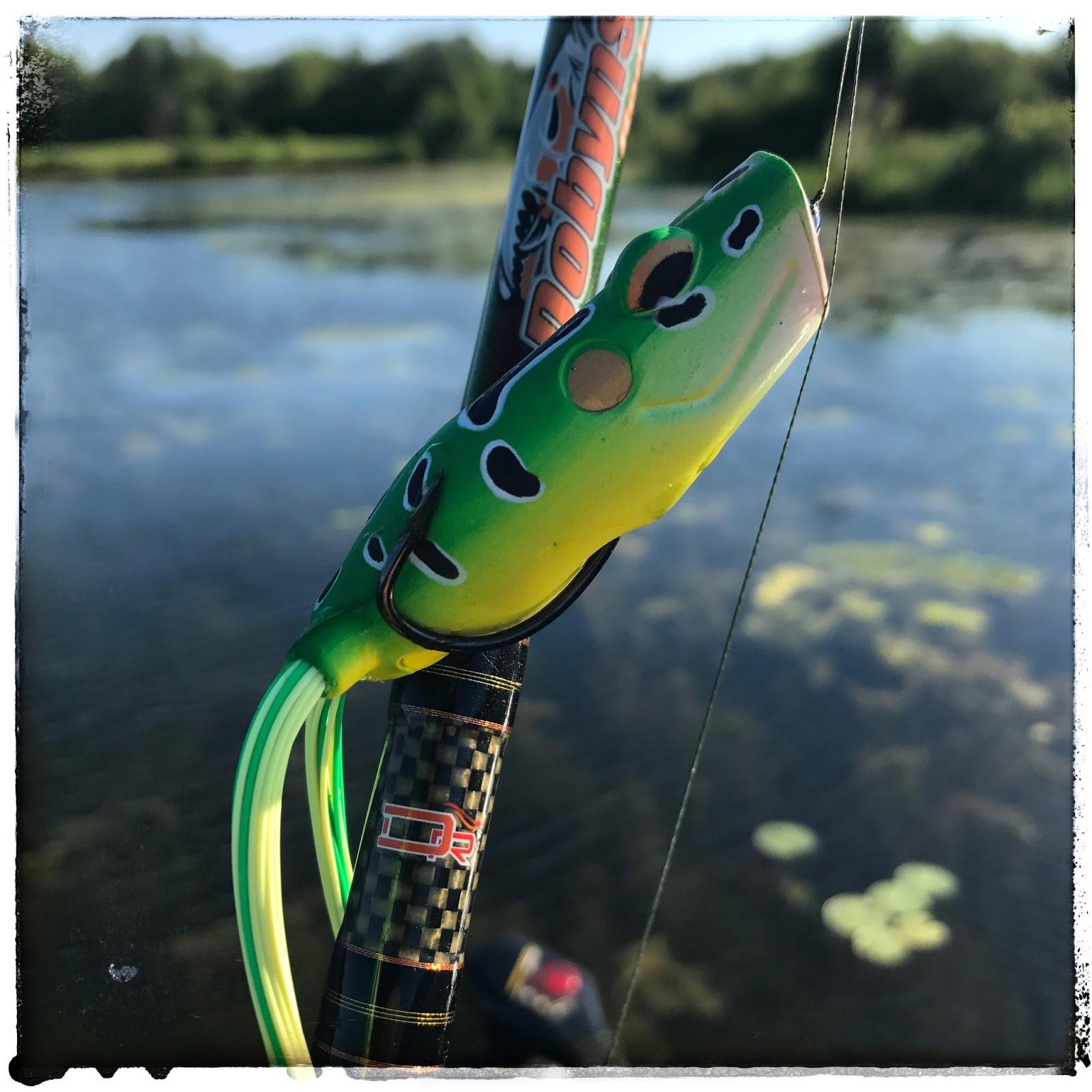 bass junkies frog pond