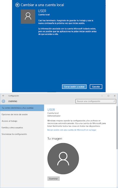 La información asociada con tu cuenta Microsoft todavía existe, pero es posible que las aplicaciones te pidan iniciar sesión antes de que accedan a ella.