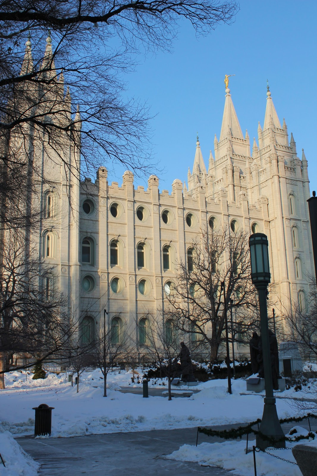In And Around Town Temple Square Salt Lake City