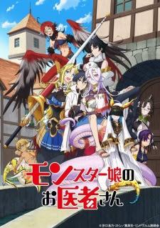 الحلقة  1  من انمي Monster Musume no Oishasan مترجم بعدة جودات