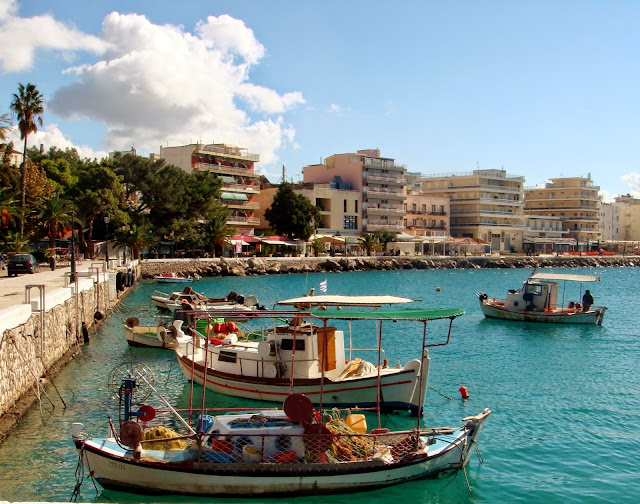 Loutraki Harbour Greece Photo by Greeker than the Greeks
