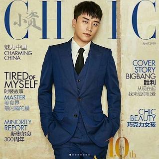 BIGBANG Seungri for CHIC Magazine April 2018 edition