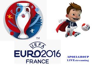 LIVEstreaming EURO 2016: Ιταλία 2-0 Ισπανία Forza Italia
