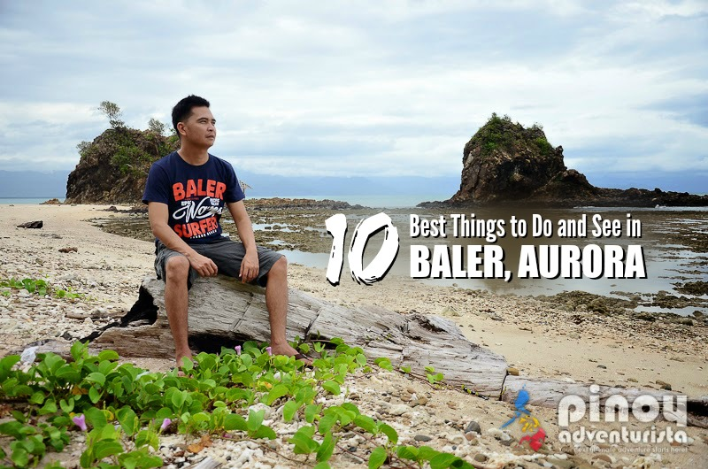 how to go to baler quezon from manila