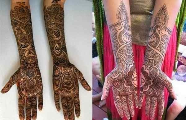 Karva Chauth Mehndi Designs Pictures