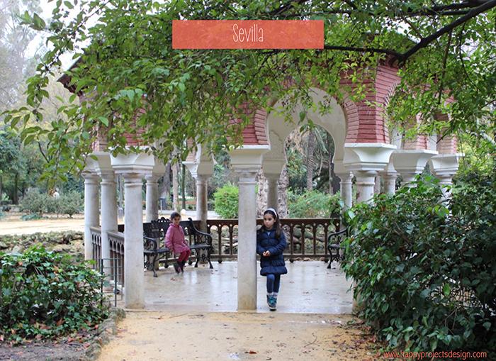 Sevilla: parque Maria Luisa