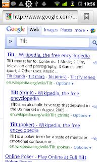 Google's 'Tilt' Easter Egg   Varun's ScratchPad