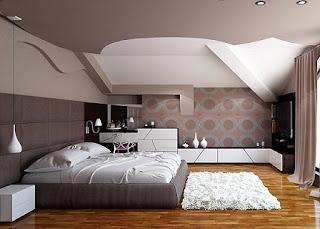 habitación colores neutros