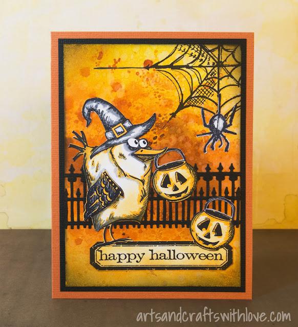 Cardmaking: Happy Halloween!
