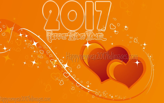 2017 Love Background HD 1080p Happy New Year