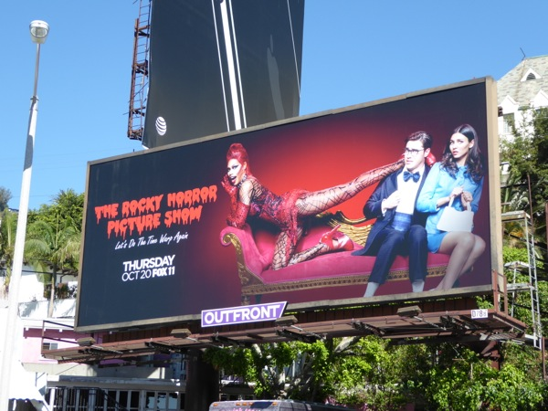 Rocky Horror Picture Show 2016 billboard