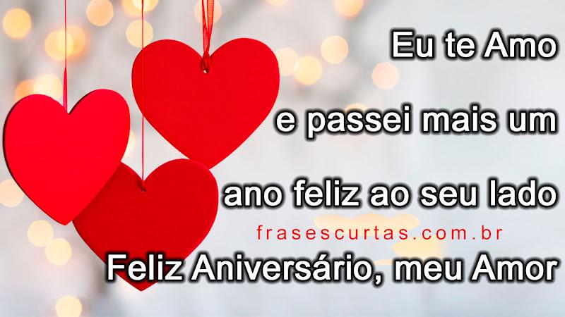 Frases De Feliz Aniversário Meu Amor Mensagens De Amor E Feliz