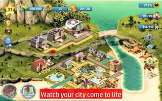 City Island 4: Sim Town Tycoon Apk v1.6.0 Mod Unlimited Money/Coins Terbaru