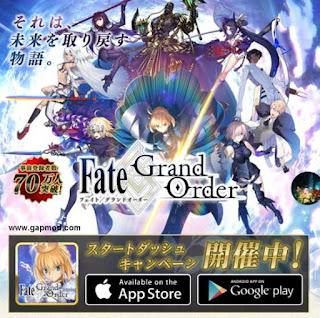 Download Fate Grand Order v1.0.4 Apk
