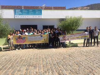 Ações de combate ao Aedes aegypti são realizadas em Catingueira