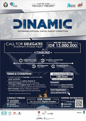 DINAMIC (Diponegoro National Capital Market Competition) 2018