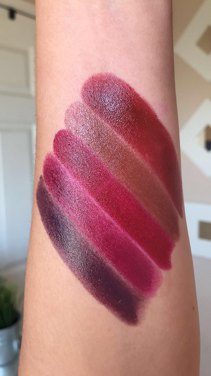 Avon True Color Lipstick Perfect Red Iced Cocoa Cherry Jubilee