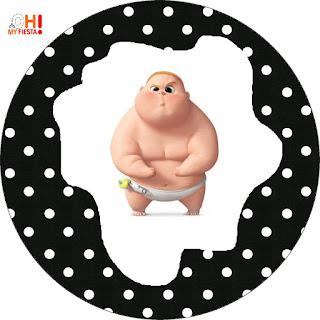 Bebé Jefazo: Wrappers y Toppers para Cupcakes para Imprimir Gratis.