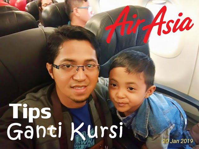 Tips Ganti Kursi Air Asia